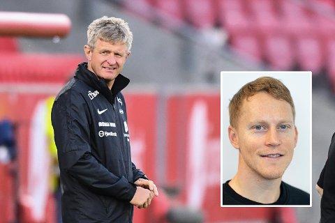 Mathias Macody Lund (innfelt) er usikker på om Lars Arne Nilsen bør lede Brann.