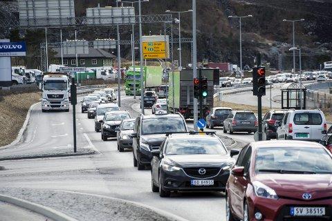 SPRENGT KAPASITET: – Folk i området ved Hylkje har bedt om tunnel i flere tiår. Men heller ikke i denne NTP-en er det lagt inn midler til dette.