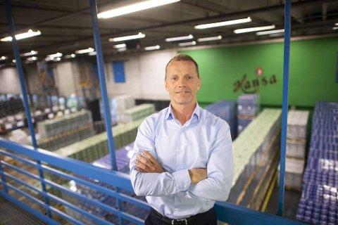 – Vi er stolte av at bryggeriet tok markedsandeler i et fallende marked i fjor. Og så er vi veldig fornøyde med hva vi har oppnådd med spesialøl og sider, sier Lars Giil i Hansa Borg Bryggerier.