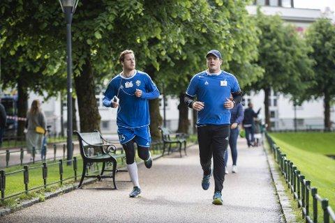 Daværende Fyllingen-trener Andreas Gjeitrem var litt for stor i kjeften, og endte opp med å måtte løpe et halvmaraton.