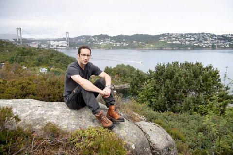 – Det er viktig at Bergen kommune flagger et klart og tydelig nei-standpunkt i saken om vindkraft på land, sier Thomas Flesland (Frp).