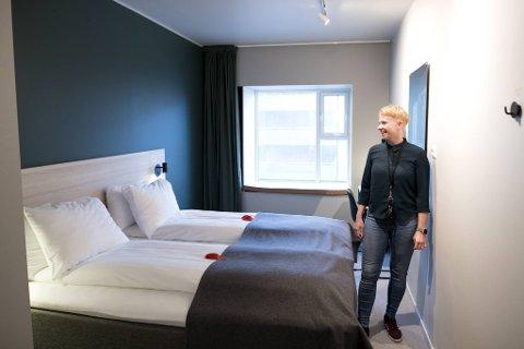 – Avtalen med Bergen kommune gjør at vi kan holde 11 av våre ansatte i arbeid, sier hotellsjef Guro Dolve Meyer ved Citybox på Danmarks plass.