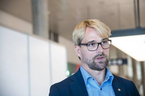 Byrådsleder Roger Valhammer.