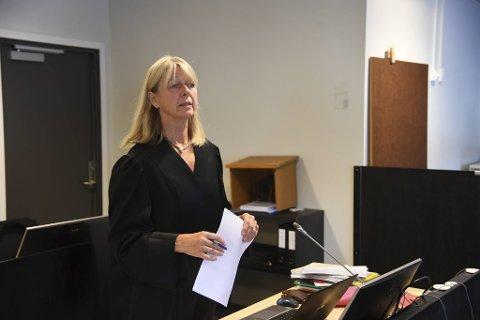 Statsadvokat Ellen Cathrine Greve var aktor i saken mot KrF-politikeren.