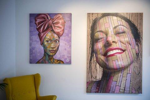 - Bildene er laget av Harem, som jeg har vært så heldig å få samarbeide med siden han var nybegynner. Nå selger Harem bilder i helt opp i 60.000-kronersklassen, forteller Christer Holm.