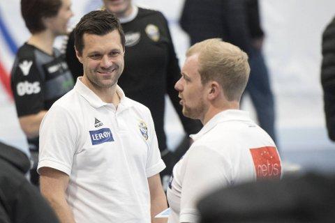 Daglig leder Vidar Gjesdal og hovedtrener Fredrik Ruud har hatt en travel sommer med å få satt sammen Fyllingen-stallen.