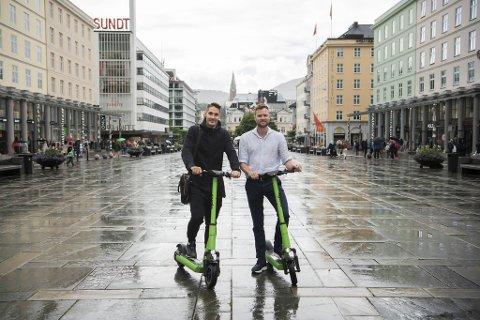 Ryde-gründerne Espen Rønneberg og Johan Olofsson.