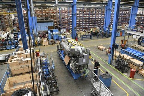 Motorfabrikken leverte 105 motorer i fjor, mot 73 året før. Likevel gikk Bergen Engines på en økonomisk kjempesmell.