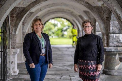 Aina Drage og Mari-Kristine Morbeg er mobbeombud i Vestland.  De blir kontaktet i en del av de vanskeligste mobbesakene.