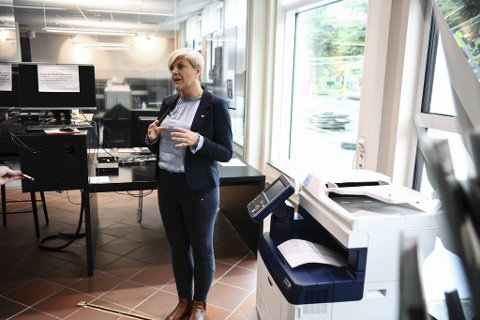 Helsebyråd Beate Husa informerte om smittesituasjonen i Bergen på en pressekonferanse lørdag formiddag.