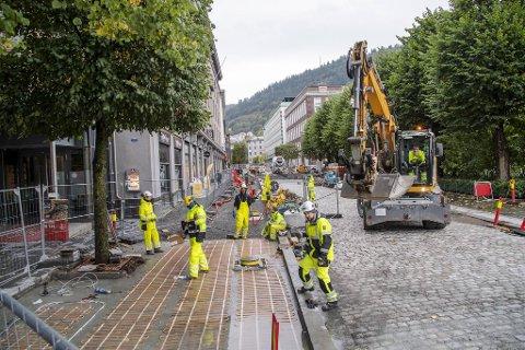 Olav Kyrres gate åpner i 2021, og skal være brukbar i tide til en svært viktig dag i Bergen.