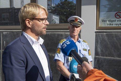 Byrådsleder Roger Valhammer kritiserer Morten Ørns uttalelse etter Sian-demonstrasjonen. – Ikke klok