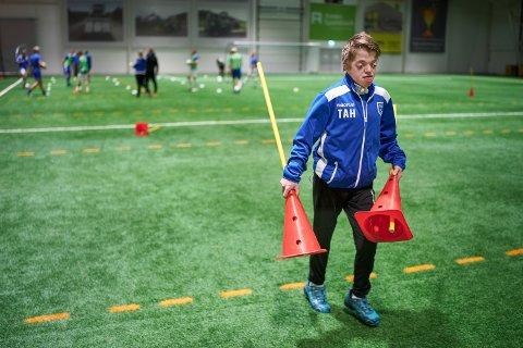 Bare uker etter at Tommy-André flyttet til Trøndelag er han blitt en del av støtteapparatet til 4. divisjonslaget til Vuku IL.