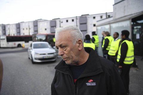 – Denne streiken vil vise hvor store samfunnsvirkninger det blir om man ikke har bussjåførene, sier Asbjørn Hærø, arbeidstillitsvalgt i Yrkestrafikkforbundet.