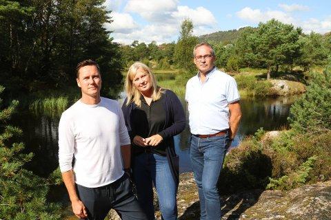 Kjetil Iden, Randi Træland og Leif Hosøy Sleire