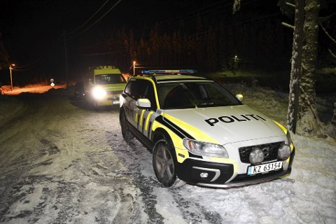 Politiet rykket mandag ut til Bahusvatnet i Fana hvor det var kommet melding om en person som hadde gått gjennom isen.