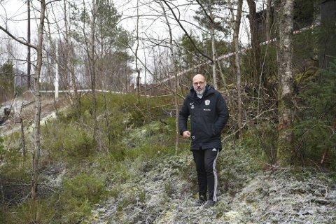 Tom-John Skjølberg oppdaget brannen ved en tilfeldighet og fikk varslet nødetatene.