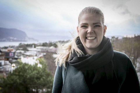 Sara Sekkingstad (Sp) (27) ble i fjor ordfører da førstekandidat Jon Askeland ble fylkesordfører i Vestland.