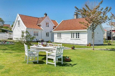 Fanahammeren 35 ble kåret til Norges vakreste hjem i 2010.
