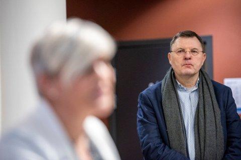 Frank van Betten var tidligere legevaktsjef i Bergen. Nå er han ny smittevernoverlege.