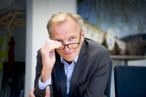 Sykehusdirektør Eivind Hansen.