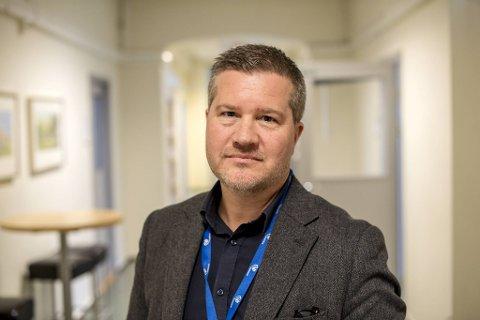 Kommunikasjonsdirektør i Helse Bergen Erik Vigander.