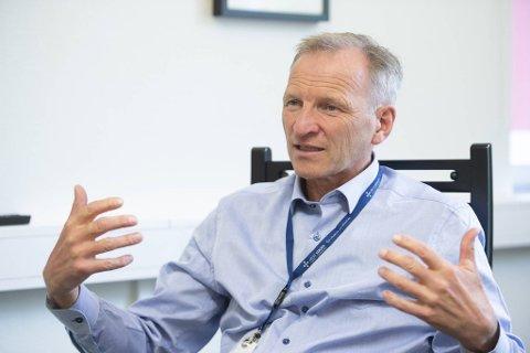 Administrerende direktør i Helse Bergen Eivind Hansen.