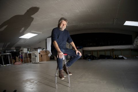 Petter Bergerud er professor i design og med i Fortunen Arkitektur. Kontoret holder til i Skur 15 ved Vågen i et lokale de kaller «Havrommet».