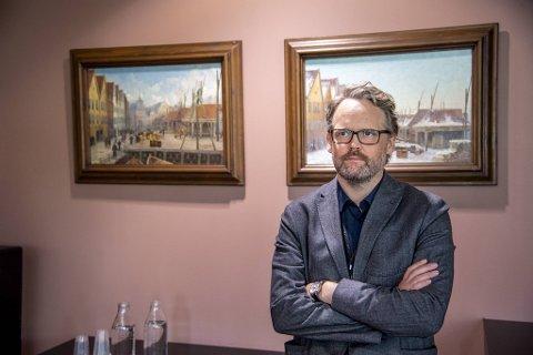 Skoledirektør i Bergen Marius Arnason Bøe.
