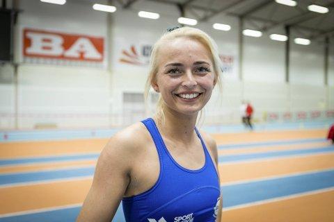 Monika Benserud kunne smile etter vellykket comeback.