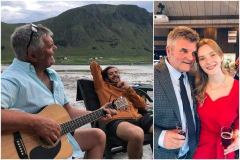 Tommy Sulen gikk bort tirsdag. Hans barn, Vetle og Juni Sulen Skogseth, forteller om en far som alltid spredte glede og hadde en vits på lur.