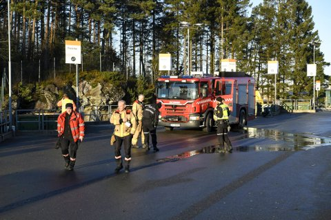 Brannvesenet rykket ut til Bir-anlegget på Espehaugen onsdag ettermiddag.