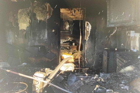 En person ble pågrepet, siktet for overtredelse av brann- og eksplosjonsvernloven.