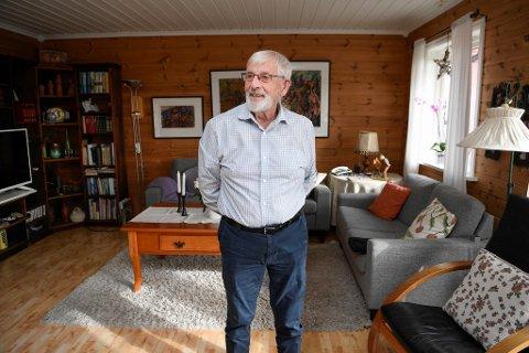 Otto Blokhus er initiativtaker bak det som blir Husnes sentrums nyeste tilskudd.