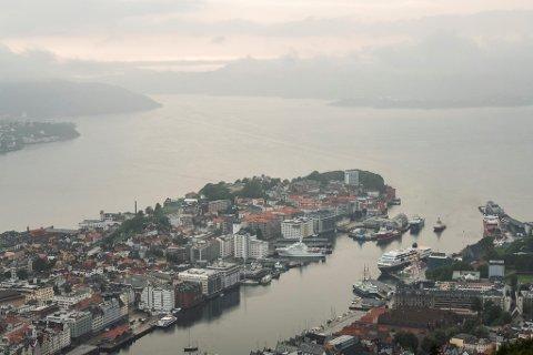 En våt og kald værtype preger Bergensværet den neste uken.