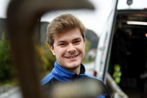 Jobbmulighetene er gode for Sondre Helland fra Åsane. Akkurat nå er det mangel på ferdig utdannede rørleggere i Norge. Et NM-gull vil være en ypperlig jobbsøknad for lærlingen.