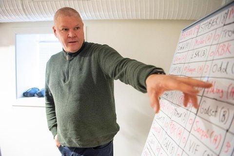 Mons Ivar Mjelde har analysert de resterende kampene til Brann og de andre konkurrentene i bunnen.