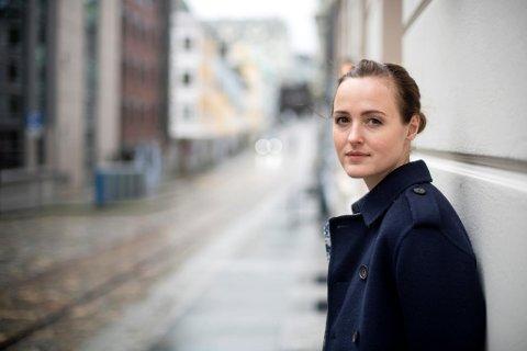 Renate Reinsve besøker Bergen i forbindelse med norgespremieren av «Verdens verste menneske».