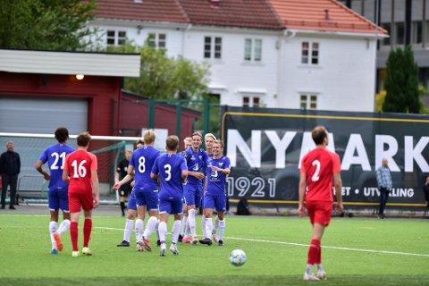 Fana imponerte igjen - denne gangen var det FK Fyllingsdalen som fikk unngjelde.