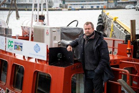 Egil Sunde trenger penger til å drive Beffen videre. Hvis ikke må han stenge ruten for vinteren.