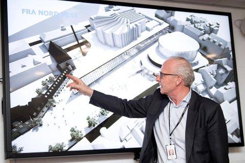 Griegkvartalet er navnet på prosjektet til Grieghallen, Bergen Nasjonale Opera og Bergen Filharmoniske orkester. At plan- og bygningsetaten nå har stoppet planene, bekymrer ikke Grieghallen-direktør Olav Munch stort.