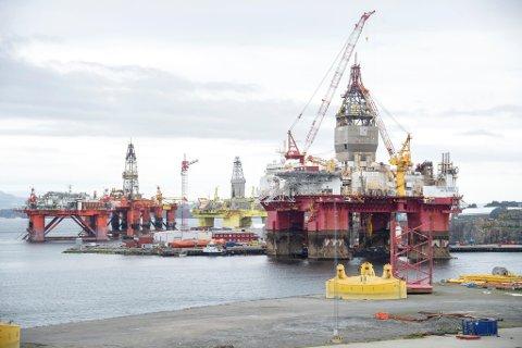 CCB og Odfjell Drilling har i 32 år samarbeidet om et 30-talls riggprosjekter, noen av dem her på Ågotnes. Nå utvider de partnerskapet for å møte det grønne skiftet i offshorebransjen globalt.