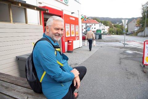 Kjell Normann Olsen bor på selv på Lønborg, men er ikke overrasket over at bilister i Biskopshavn- og Eikeviken-området betaler mest i bompenger.