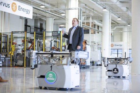 Corvus Energy-sjef Geir Bjørkeli driver allerede stort innen skipsbatterier fra fabrikken på Midtun. Nå inngår Fana-selskapet samarbeid med japanske Toyota om ny hydrogen-brenselcelleteknologi på skip.