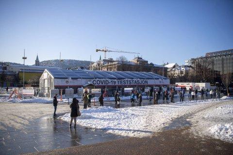 Tirsdag testet 1908 personer seg i Bergen.