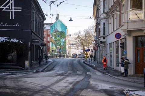 8. januar i fjor ble sjåføren stoppet av politiet i Kong Oscars gate i Bergen sentrum.