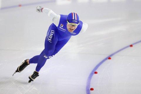 Sverre Lunde Pedersen gikk så sakte på 5000 meter at skøyteekspert Even Wetten mente det lignet på en helt vanlig treningsøkt.