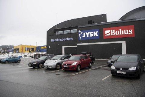 Ikea er stengt, men Bohus i Åsane er åpen.