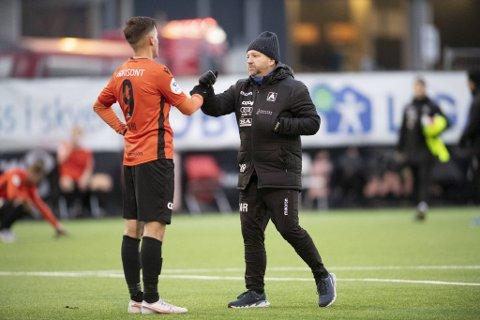 Morten Røssland måtte ta farvel med Henrik Udahl denne uken.