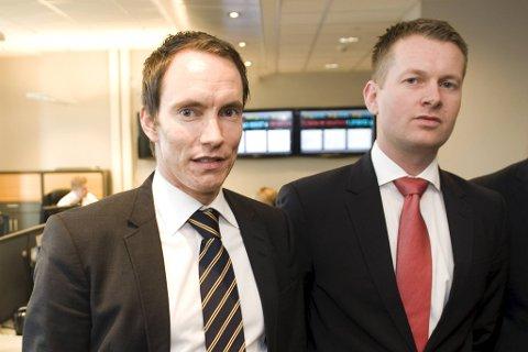 Da Erik Egenæs (t.v.) og Endre Tangenes etablerte Nordic Securities i 2010 hadde de store ambisjoner for meglerhuset.